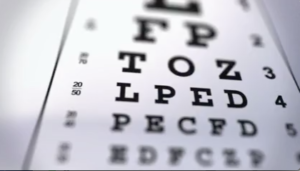 Vision may not be sharp with diabetic macular edema