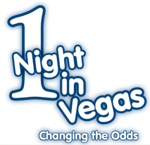 1 Night in Vegas Event Logo JDRF