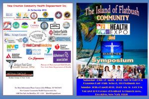 Flatbush Community Health Expo and Diabetes Symposium Brochure